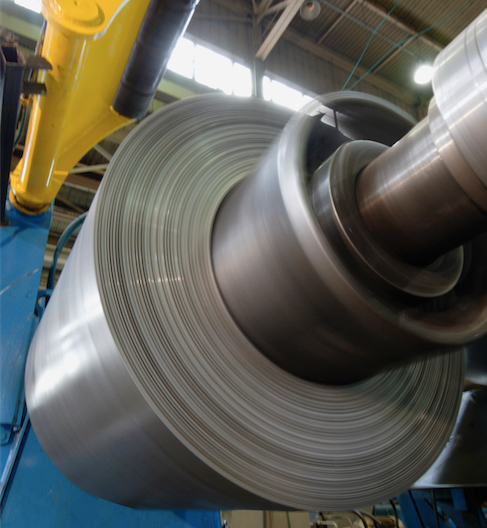 Steel Coiling Uncoiling Application