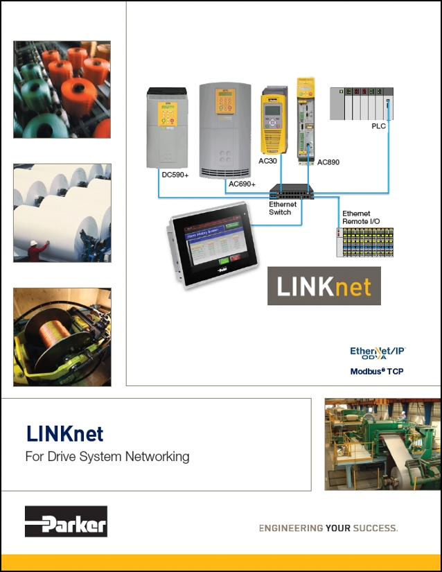 Parker LINK Net Ethernet Communications