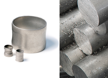 Dissolvable Alloy Billets, Machined-to-print Custom Shapes and Components