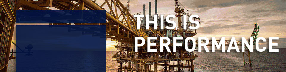 Parker solutions withstand the extreme temperatures, pressures and unique configurations confronting design engineers for a range of offshore drilling applications including mud pumps and riser system components.