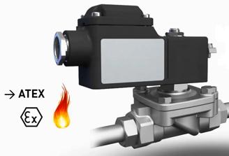 explosion proof solenoid valve 221G