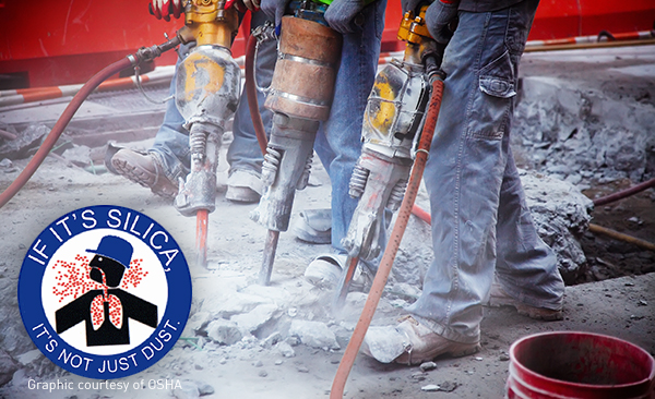 OSHA created a new standard to help employers address this problem of crystalline silica dust control.