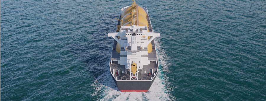 FLNG vessel