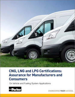 CNG LNG LPG Natural Gas Certifications White Paper