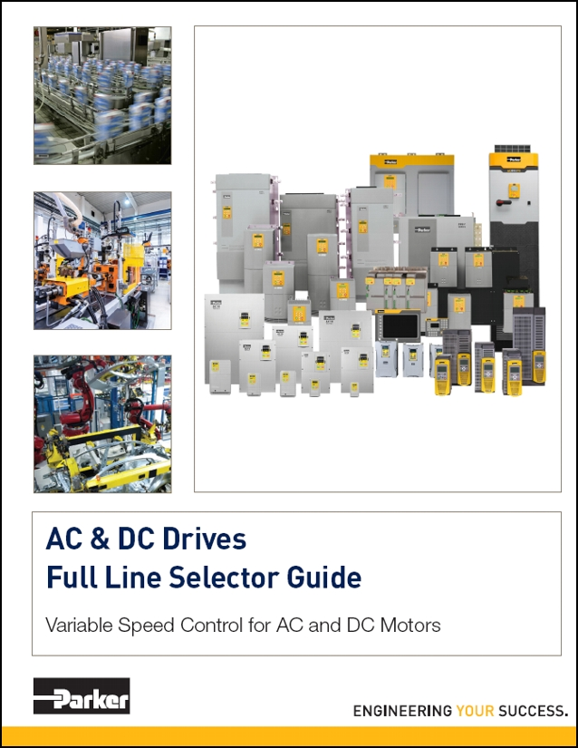 Parker full line AC and DC Drive selector guide