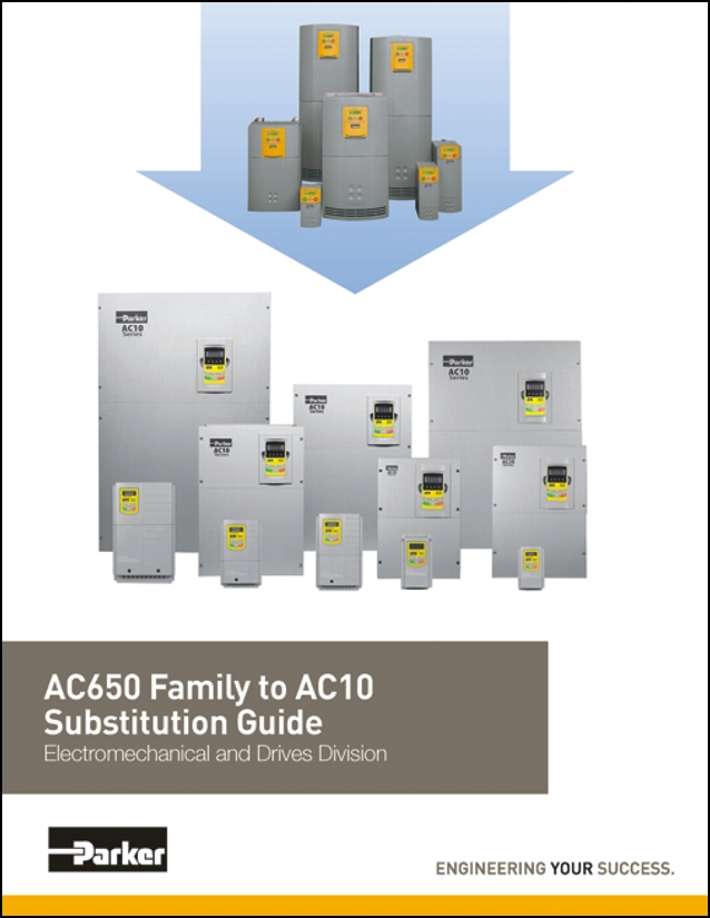 Parker AC650 Substitution Guide