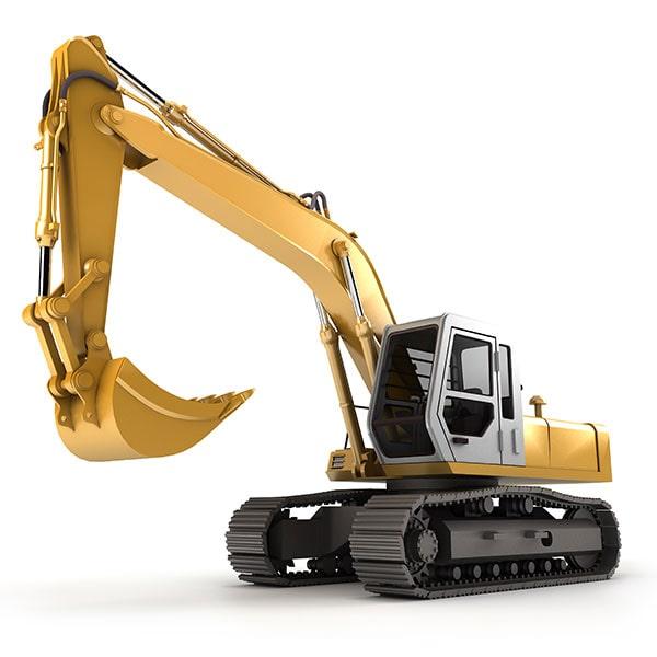 Construction Backhoe