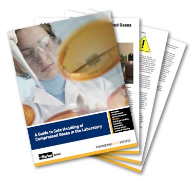 A guide to safe handling of compressed gases in the laboratory