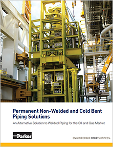 Read the whitepaper: Permanent Non-Welded and Cold Bent Piping Solutions