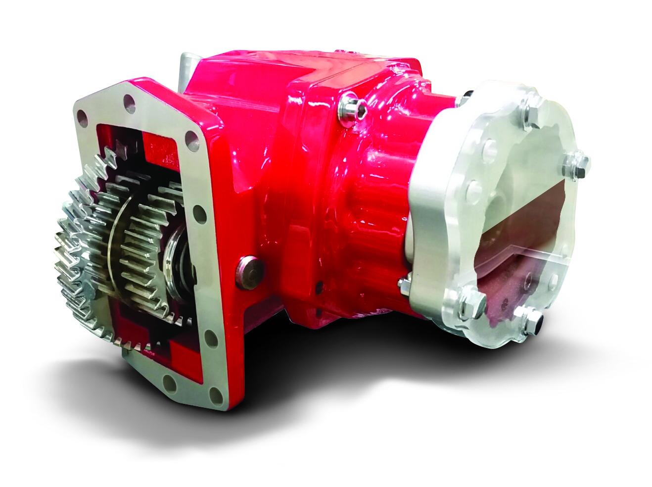 Parker Wet Spline Technology Eliminates Fretting Corrosion on PTO pump shaft