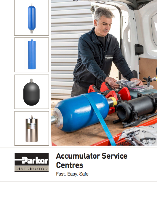 Parker Accumulator Service Centres