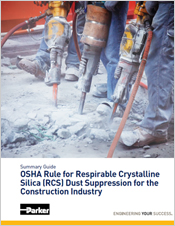 Request Parker Summary Guide to the new OSHA RCS Standard